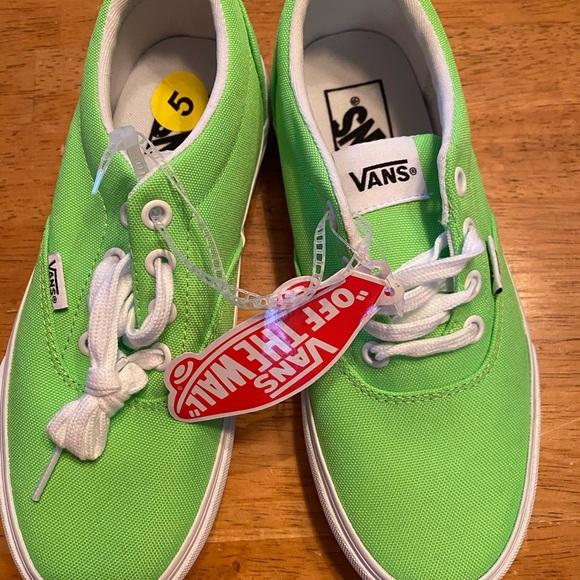 Vans Shoes | Ladies Vans Size 5 | Poshmark